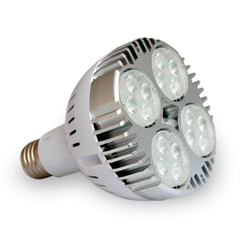 Lámpara LED PAR30, E27, 20W, Blanco cálido